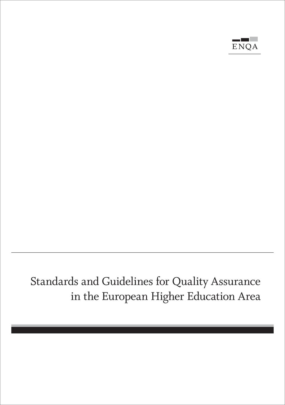 Quality Assurance in