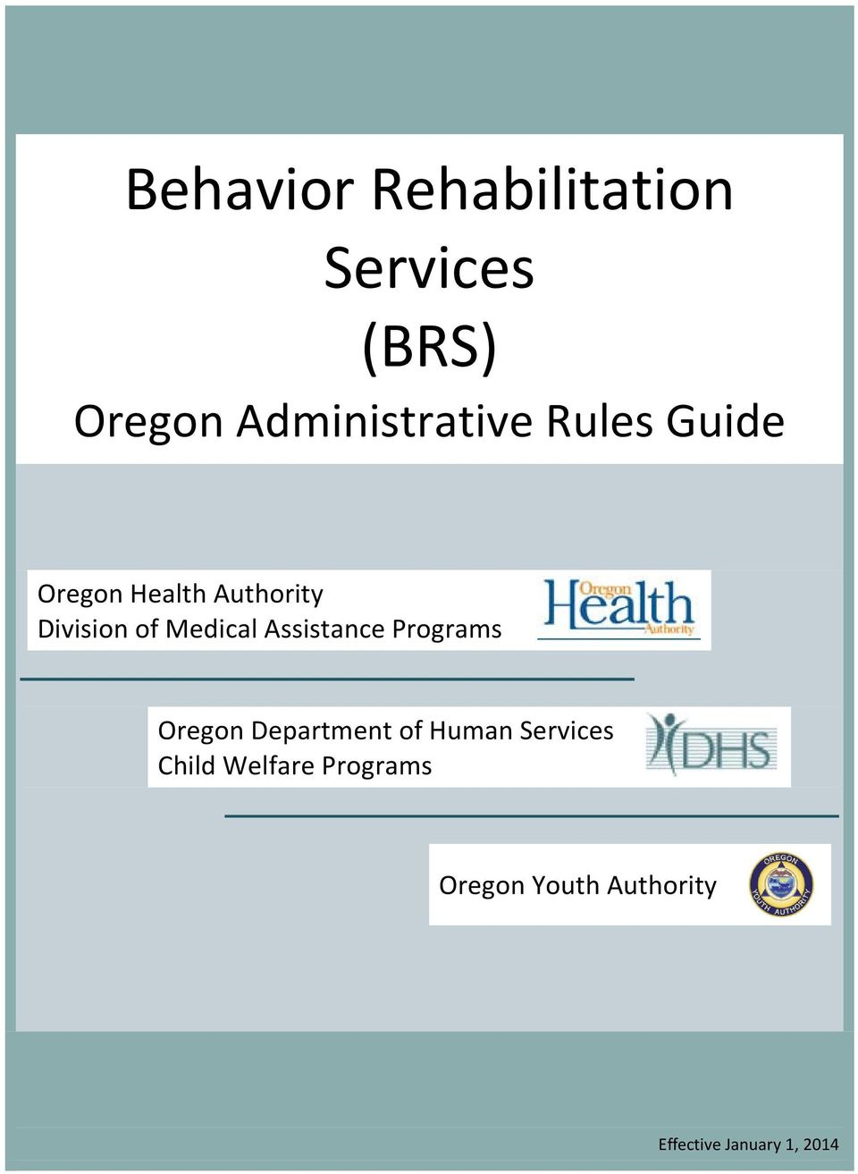 Assistance Programs Oregon Department of Human Services