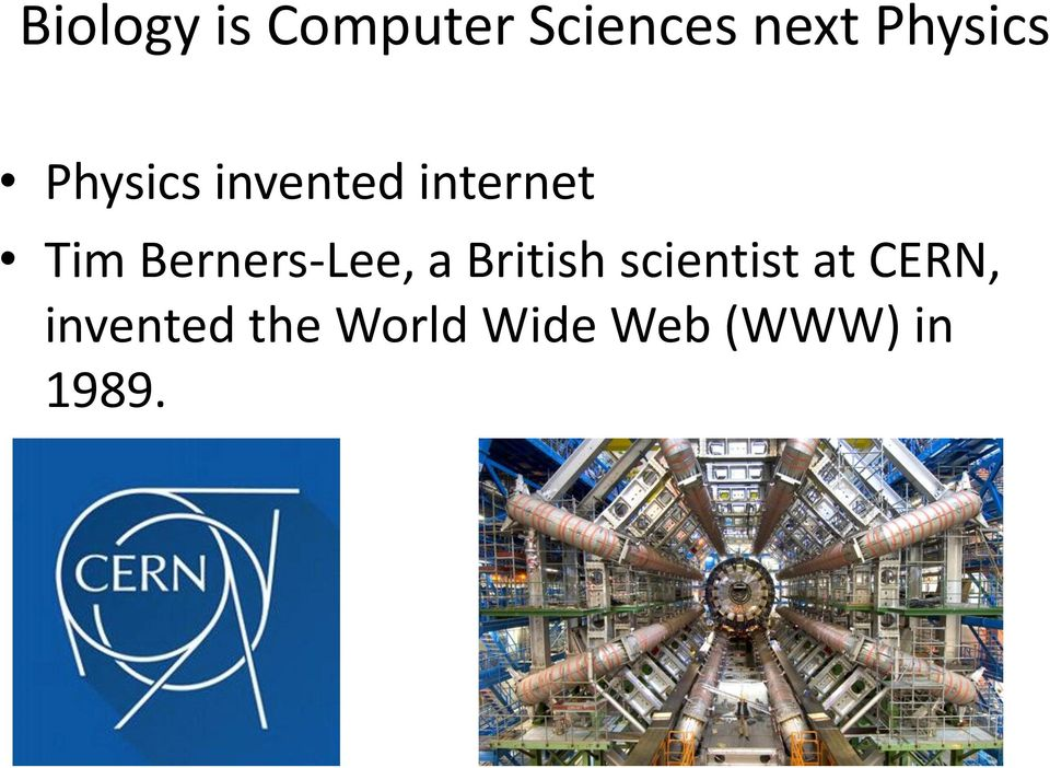 Berners-Lee, a British scientist at