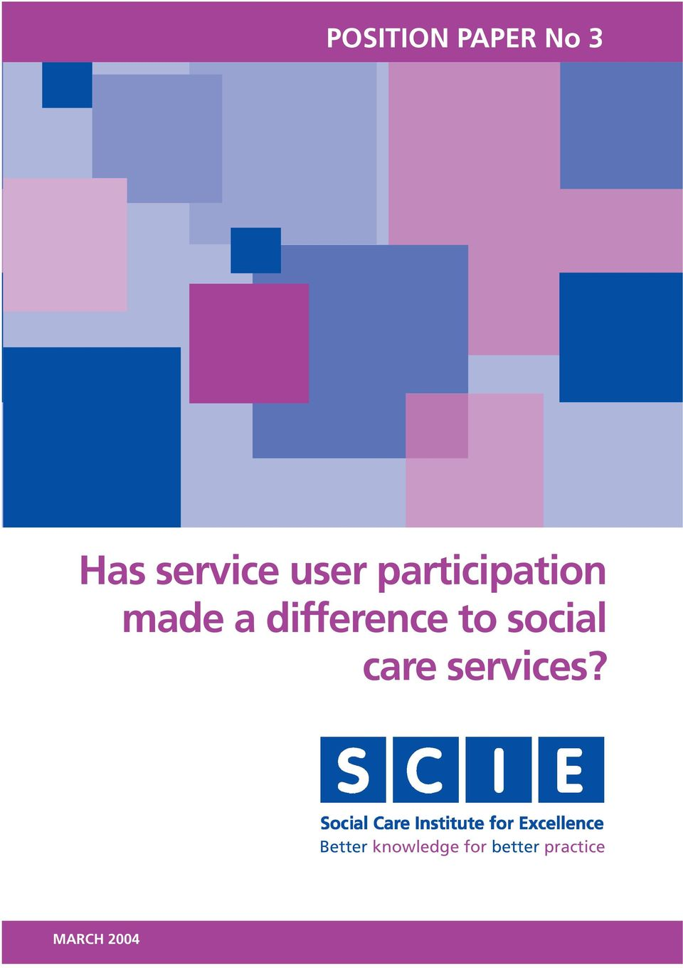 difference to social care services?