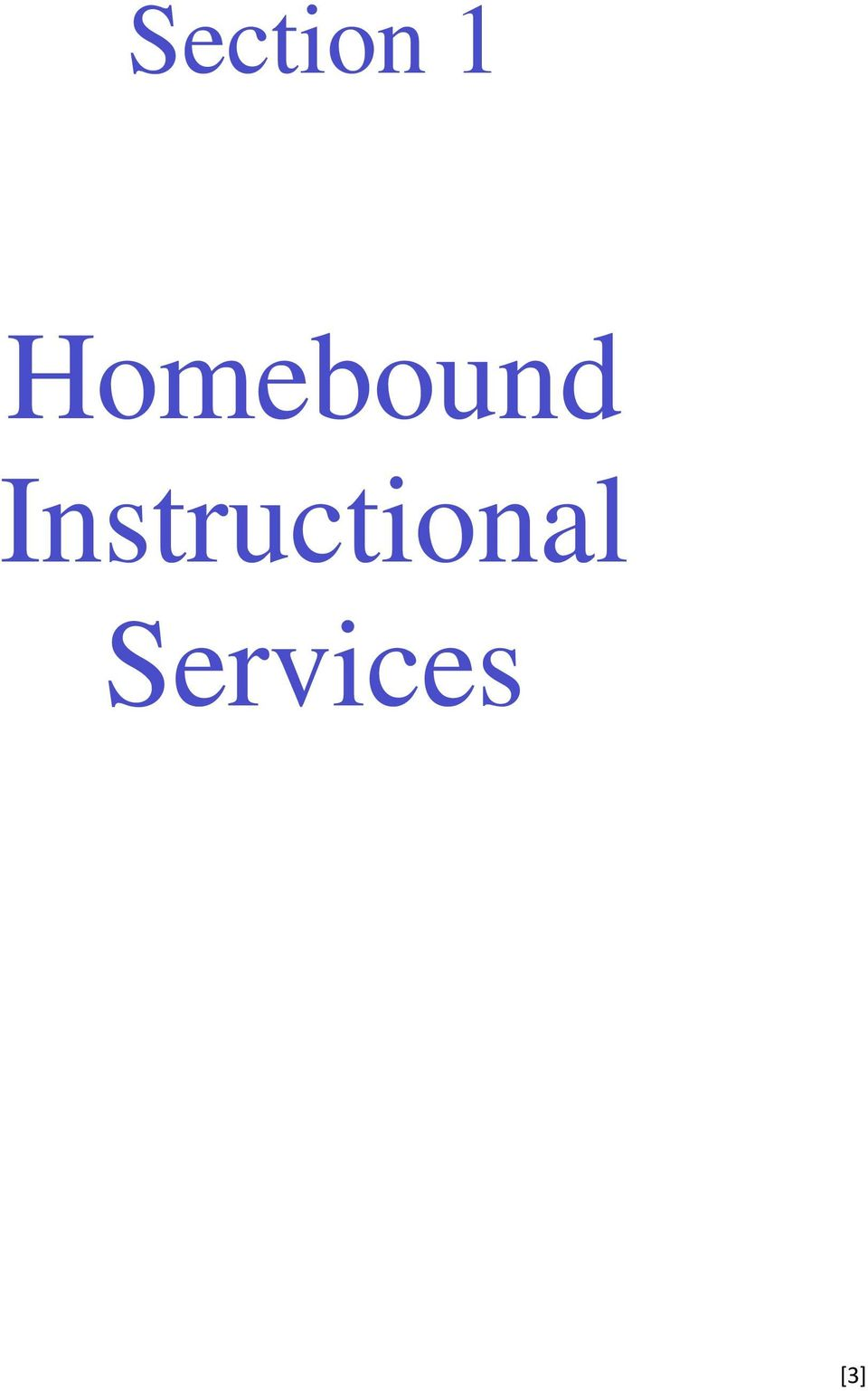 handbook for homebound and home based instruction pdf