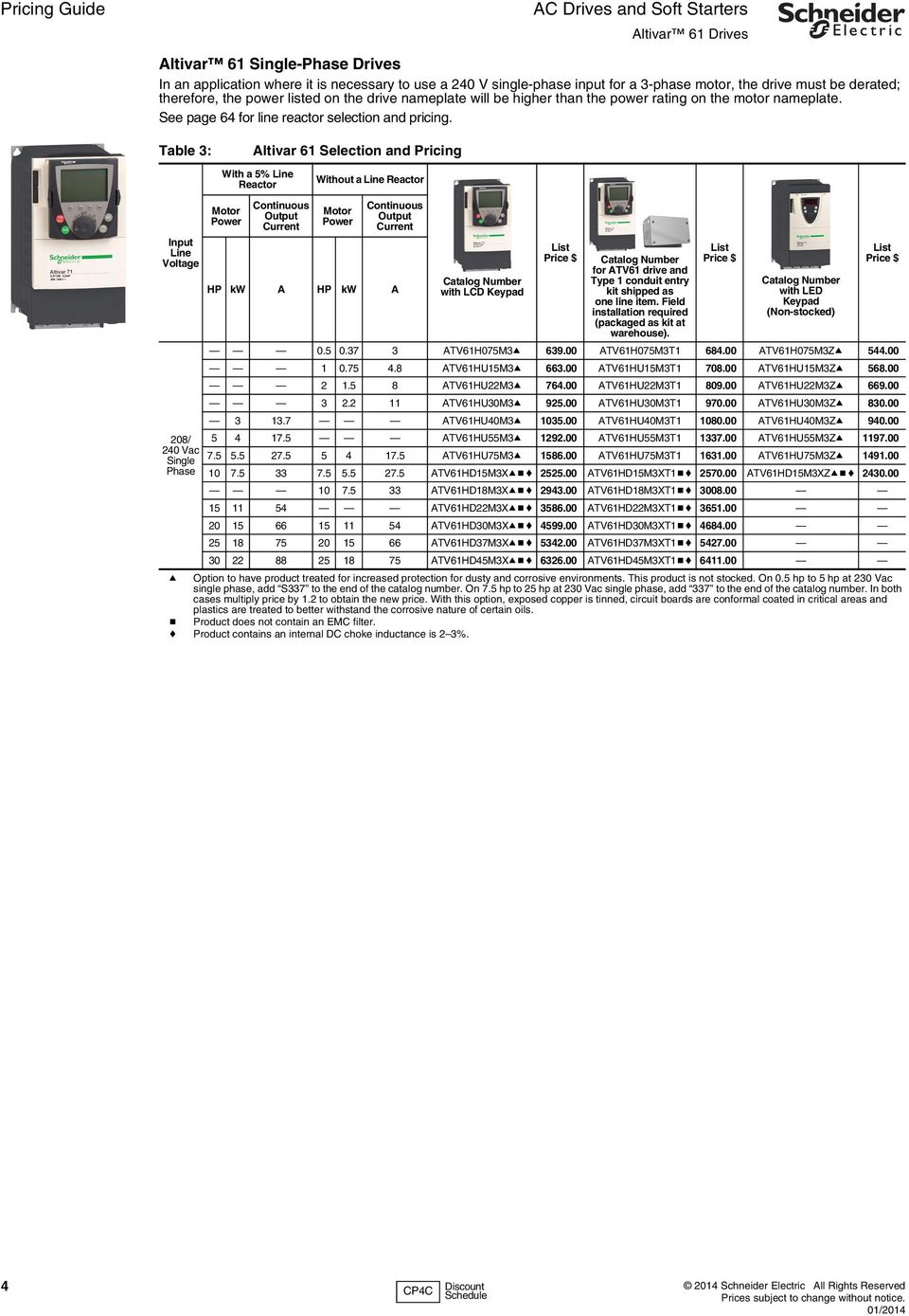 Ac drives and soft starters pdf for Schneider motor starter selection guide