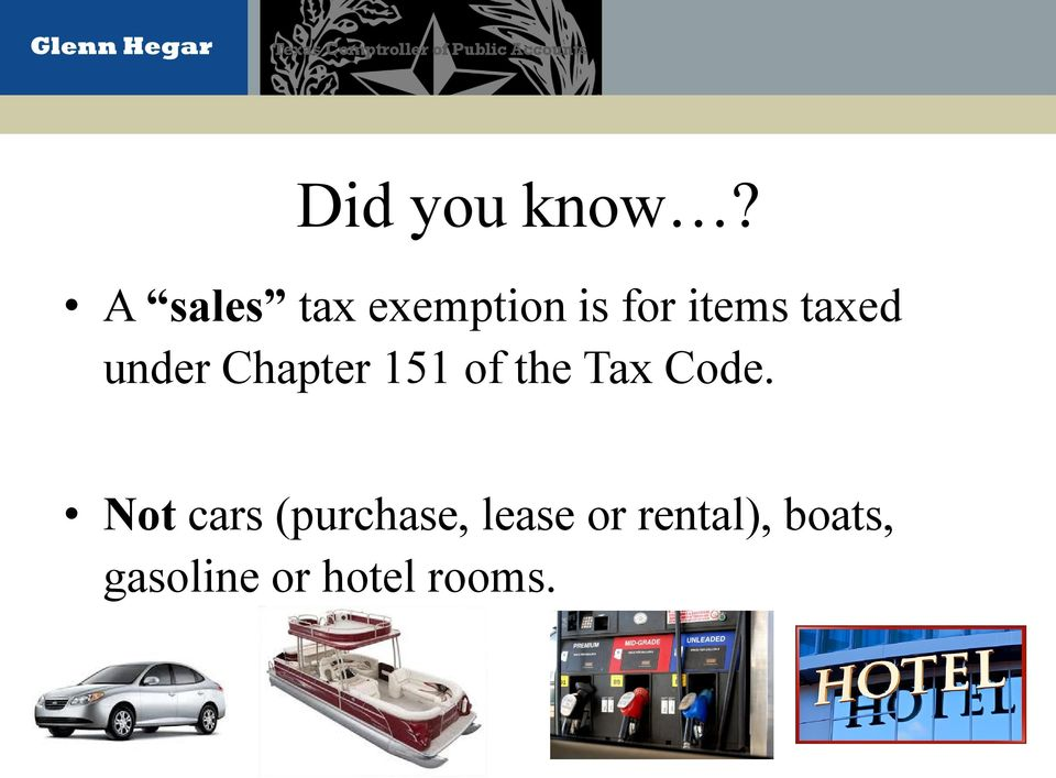 Sales Tax On Rental Cars In Texas