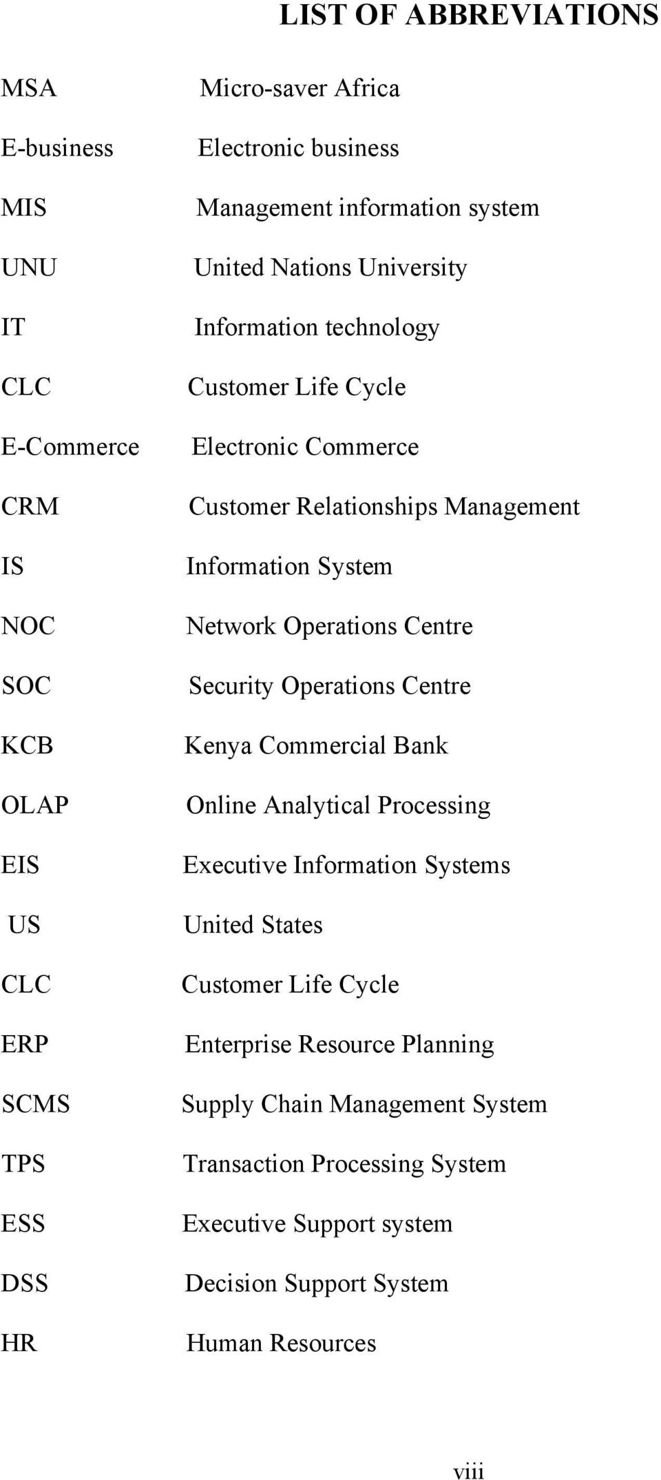System Network Operations Centre Security Operations Centre Kenya Commercial Bank Online Analytical Processing Executive Information Systems United States Customer