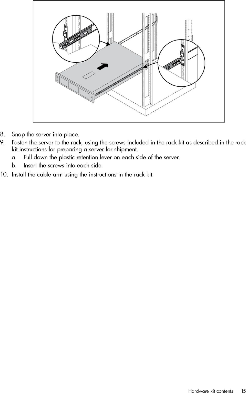 rack kit instructions for preparing a