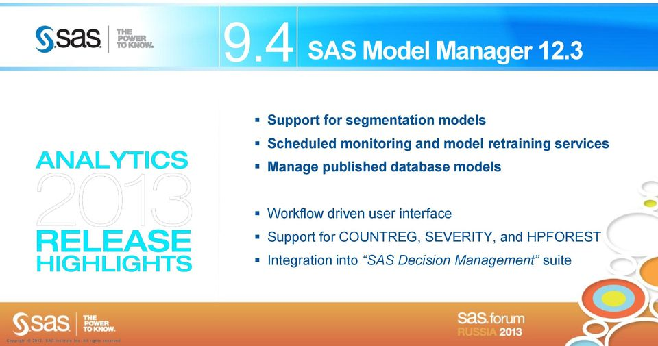 retraining services Manage published database models Workflow