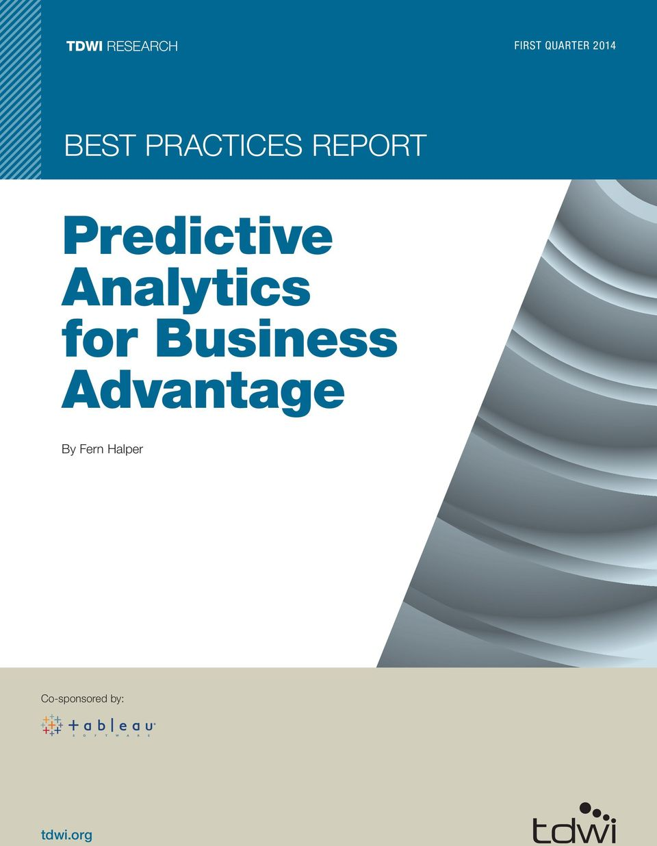 Analytics for Business Advantage