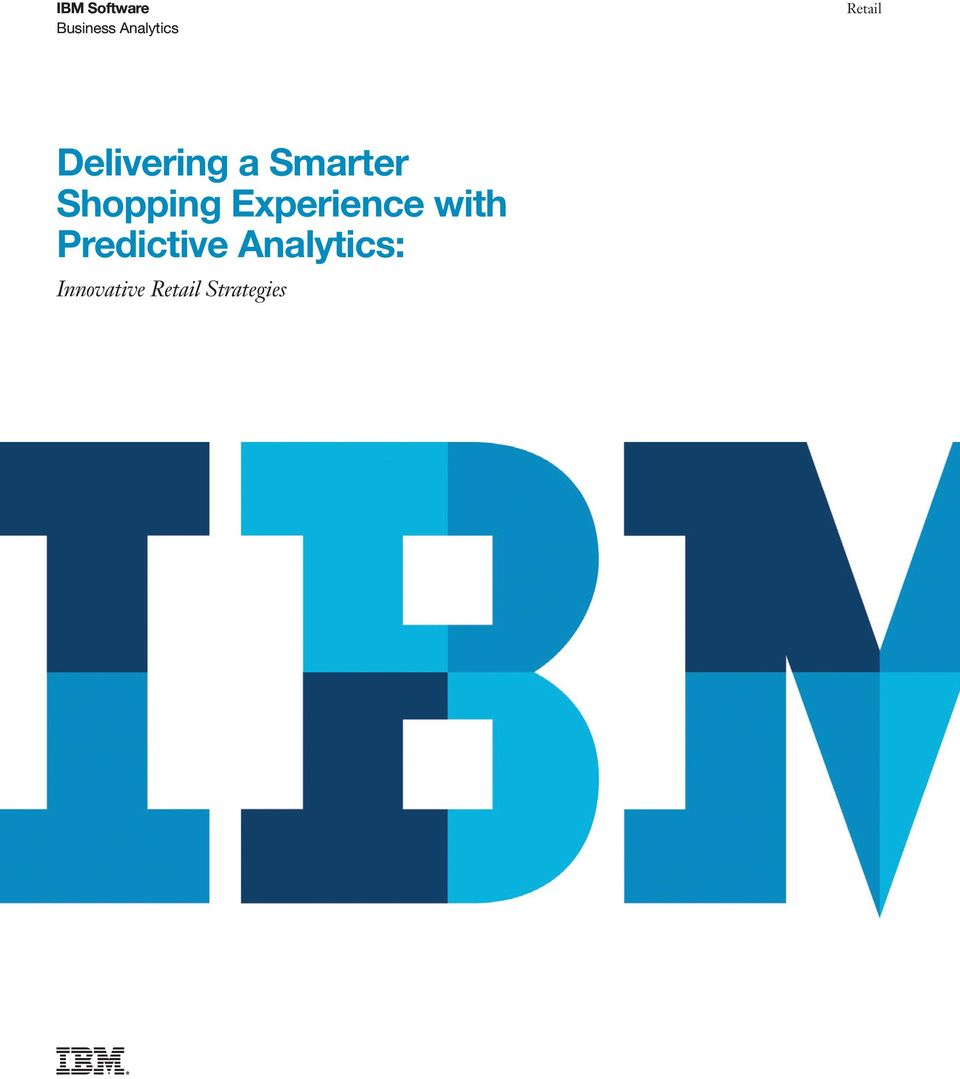 Shopping Experience with