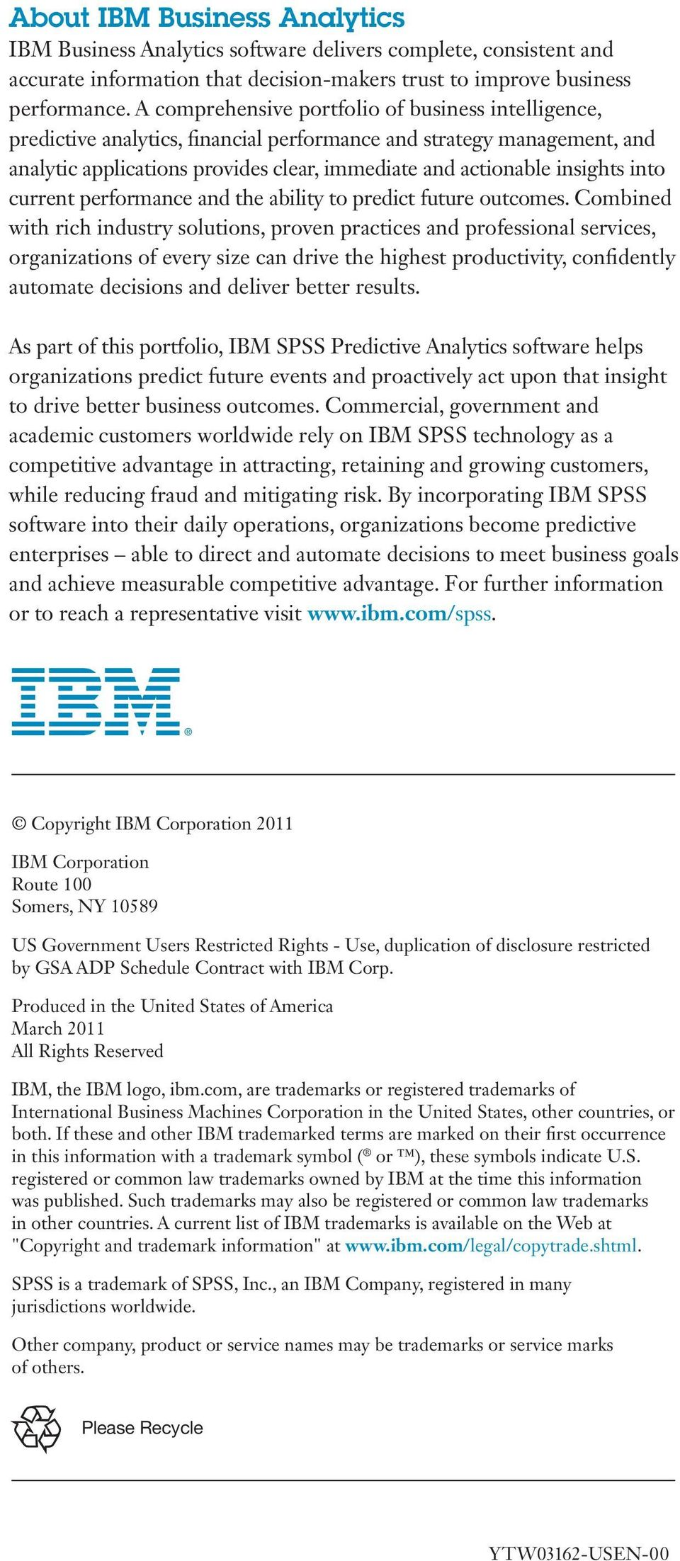 into current performance and the ability to predict future outcomes.