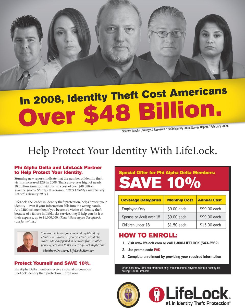 (Source: Javelin Strategy & Research. 2009 Identity Fraud Survey Report. February 2009.