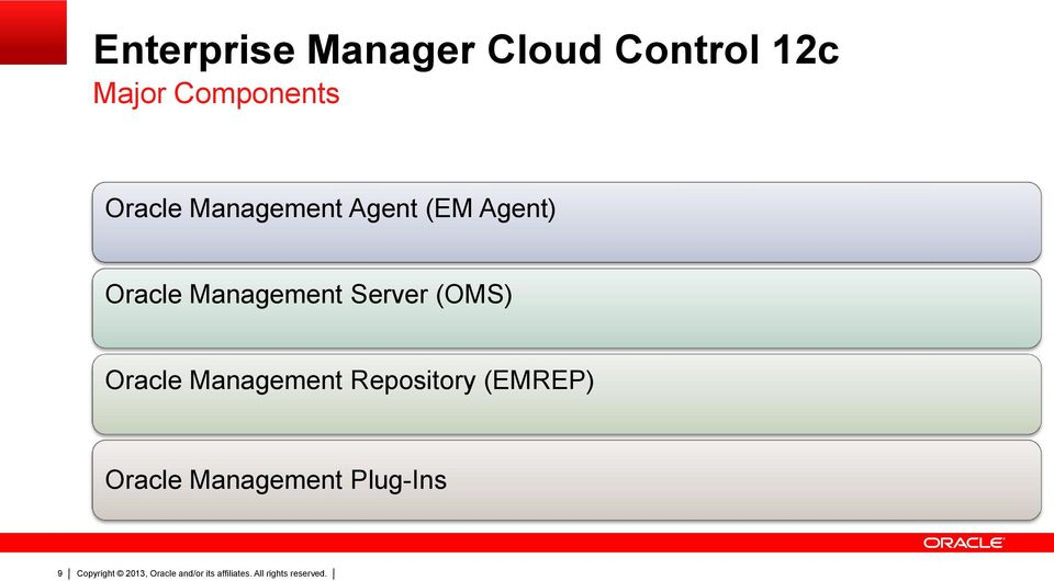 Oracle Management Server (OMS) Oracle