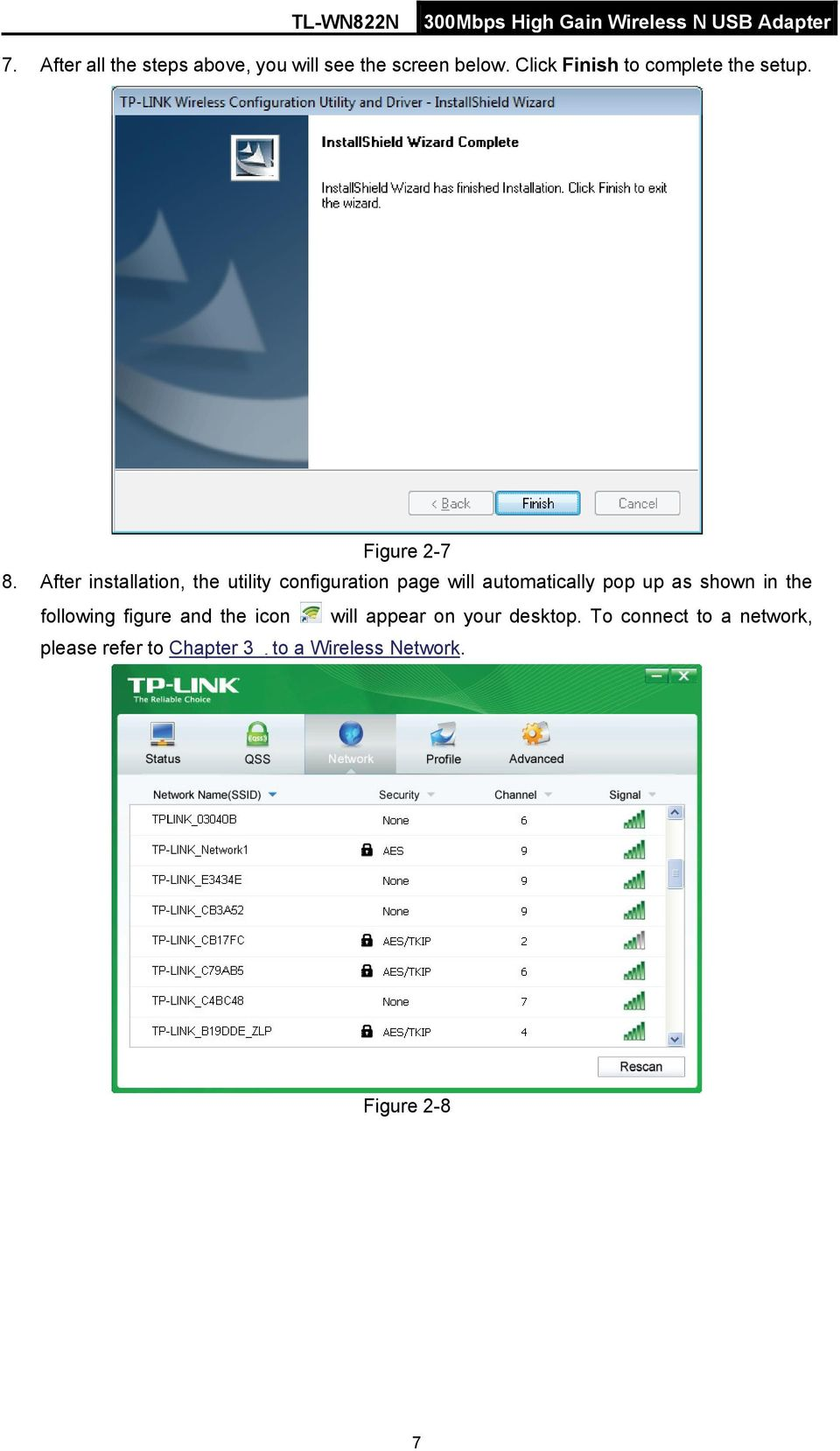 After installation, the utility configuration page will automatically pop up as shown in the