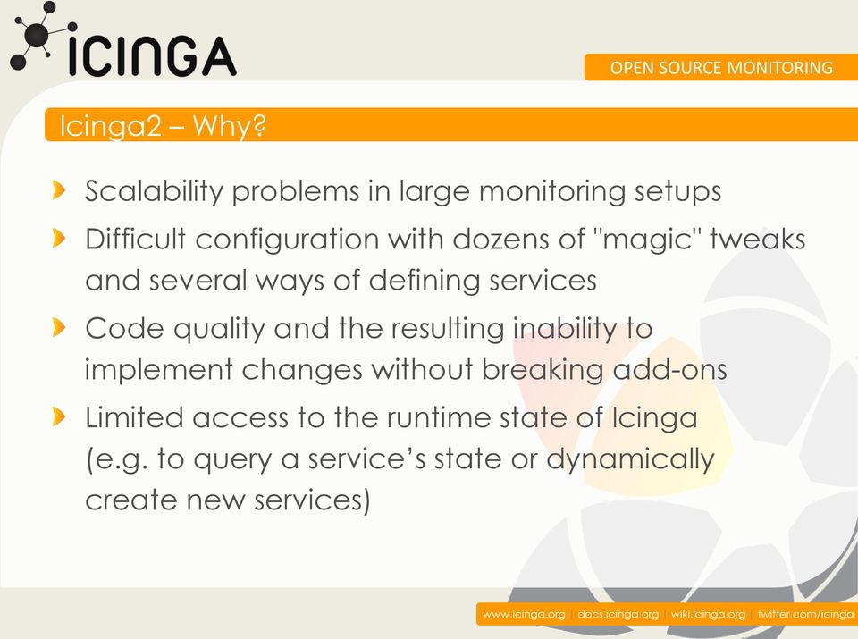 """magic"" tweaks and several ways of defining services Code quality and the resulting"