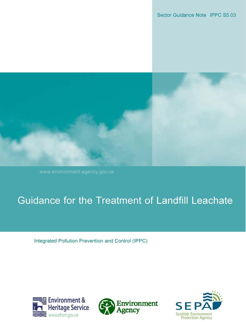uk Guidance for the Treatment of