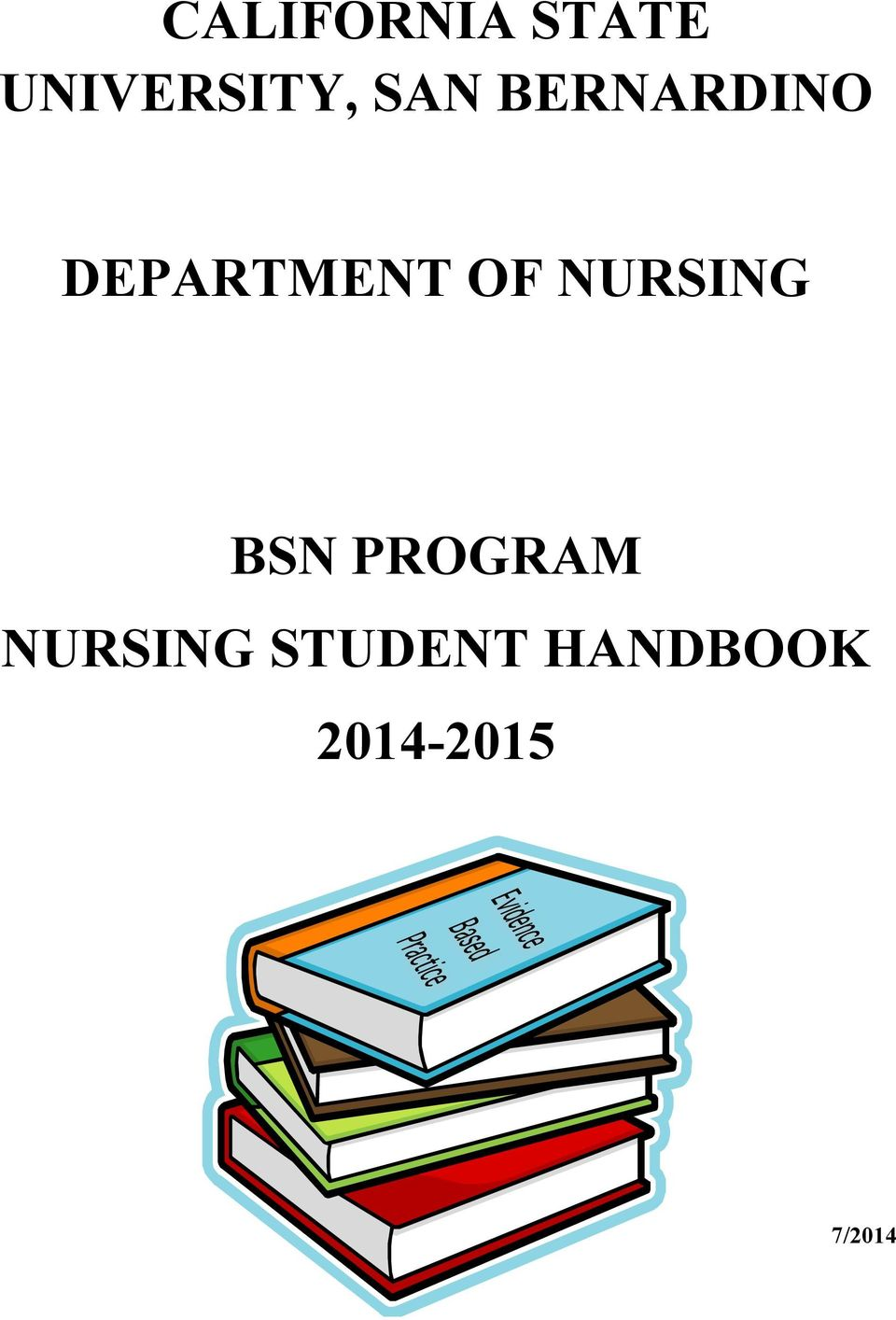 NURSING BSN PROGRAM NURSING