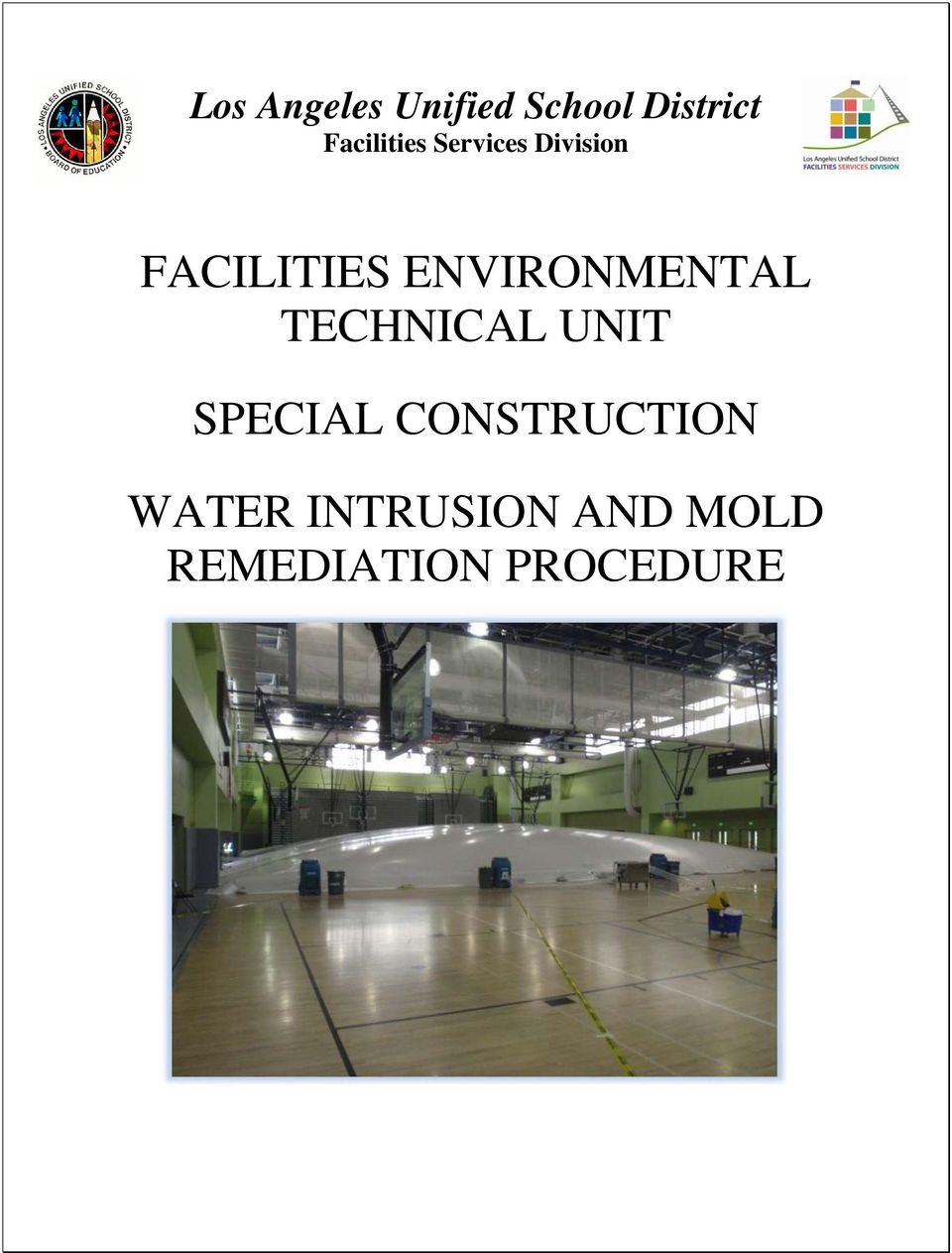 ENVIRONMENTAL TECHNICAL UNIT SPECIAL