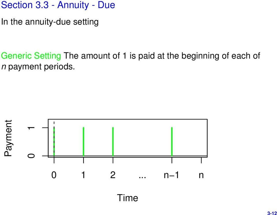 setting Generic Setting The amount of 1 is