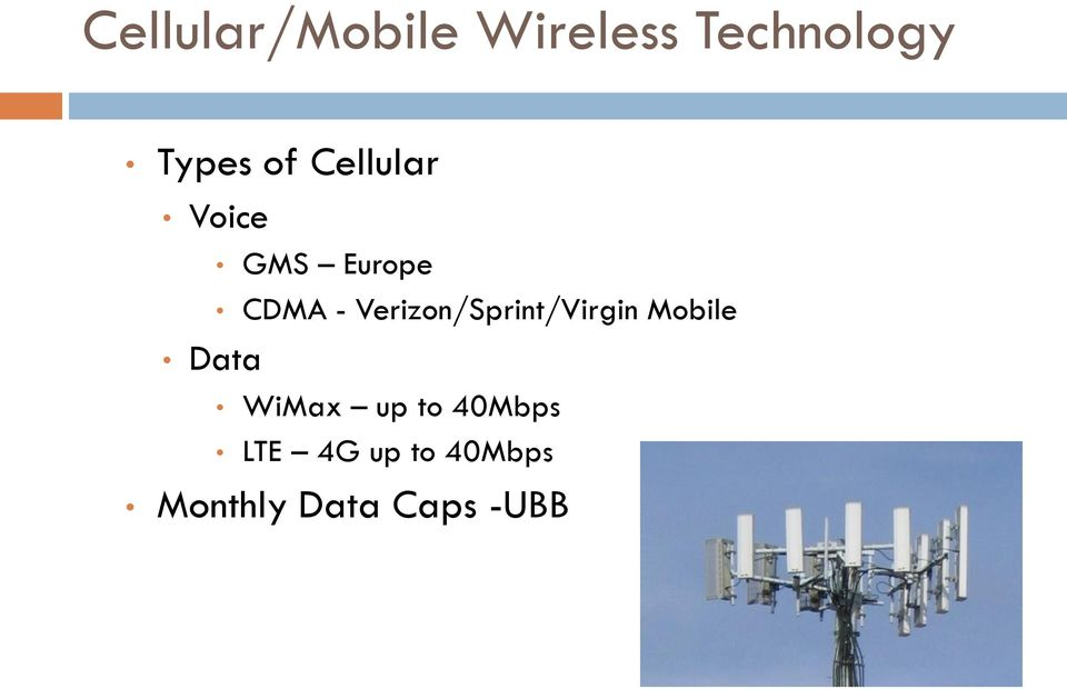 Verizon/Sprint/Virgin Mobile WiMax up to