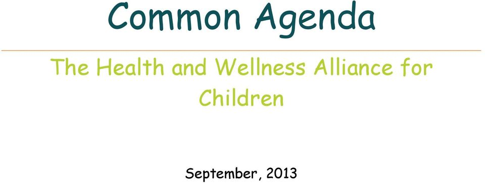 Wellness Alliance