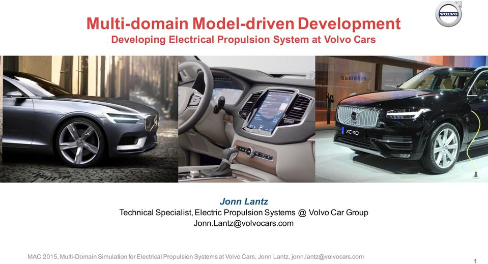 Lantz Technical Specialist, Electric Propulsion