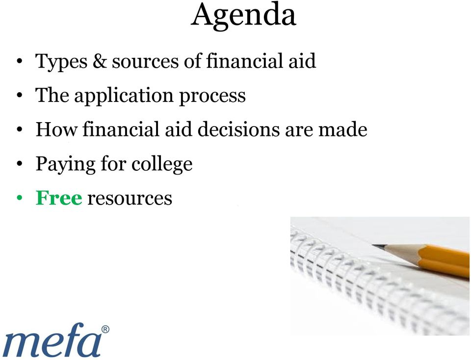 process How financial aid