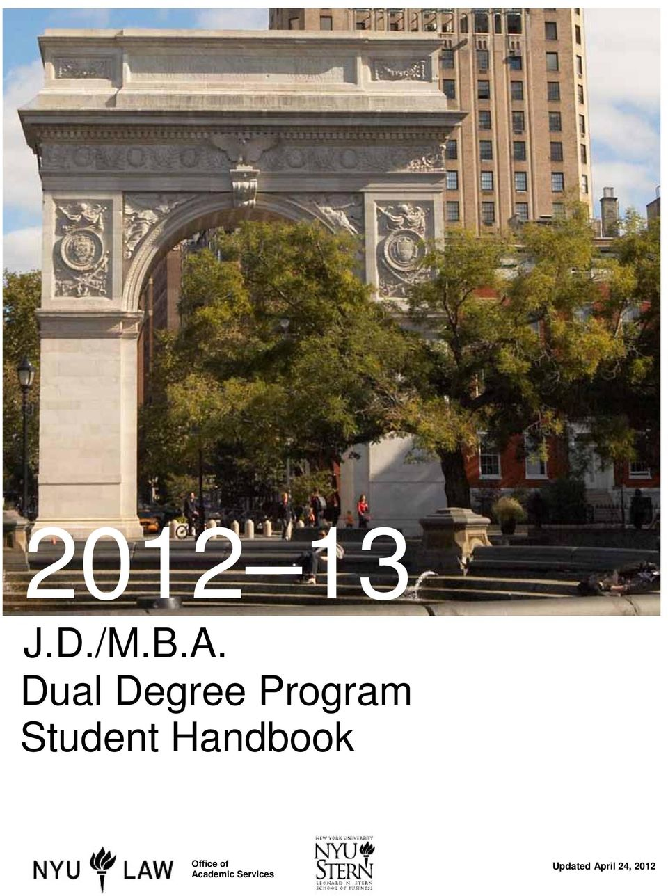 Student Handbook Office of