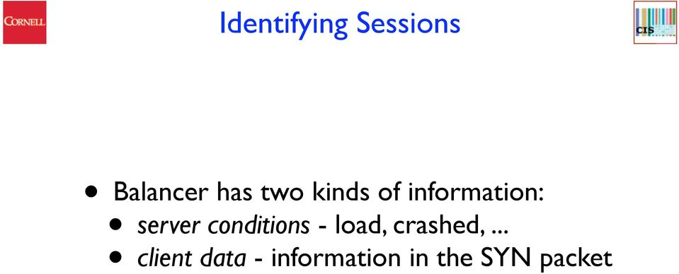 conditions - load, crashed,.