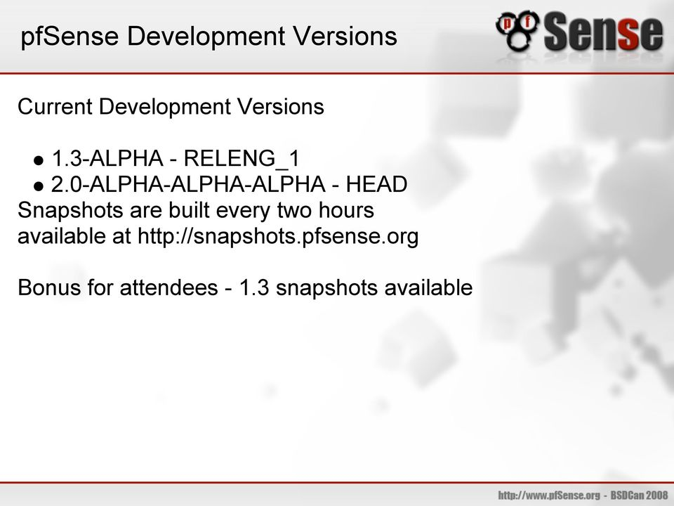0-ALPHA-ALPHA-ALPHA - HEAD Snapshots are built every two