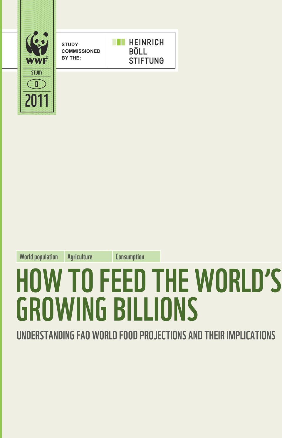 Feed the World s Growing Billions