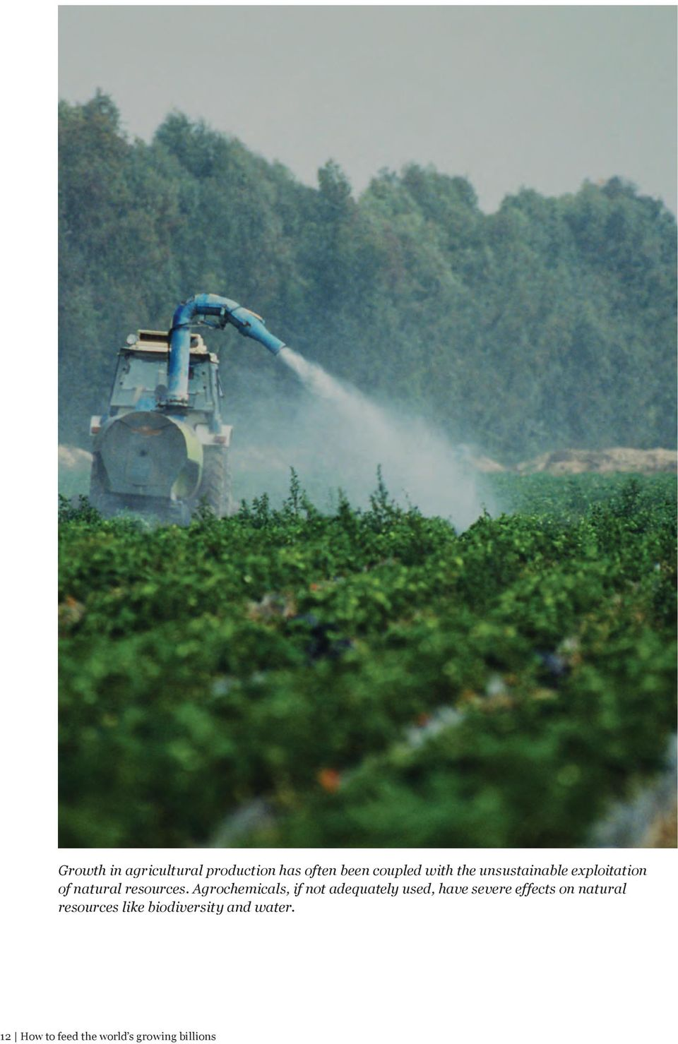 Agrochemicals, if not adequately used, have severe effects on