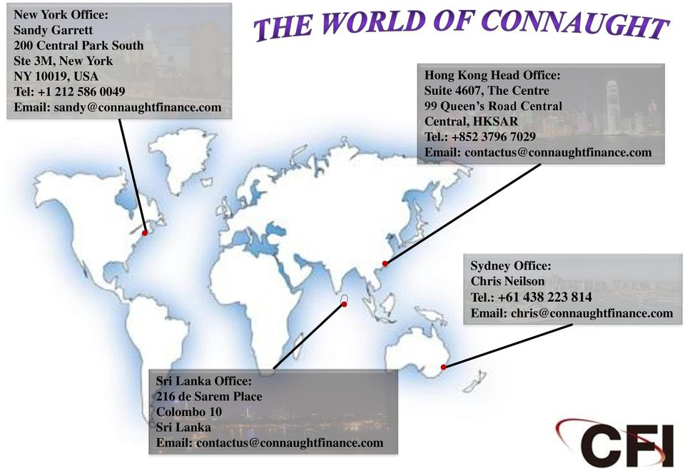 com Hong Kong Head Office: Suite 4607, The Centre 99 Queen s Road Central Central, HKSAR Tel.