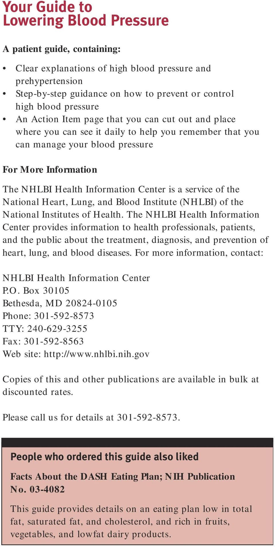 a service of the National Heart, Lung, and Blood Institute (NHLBI) of the National Institutes of Health.