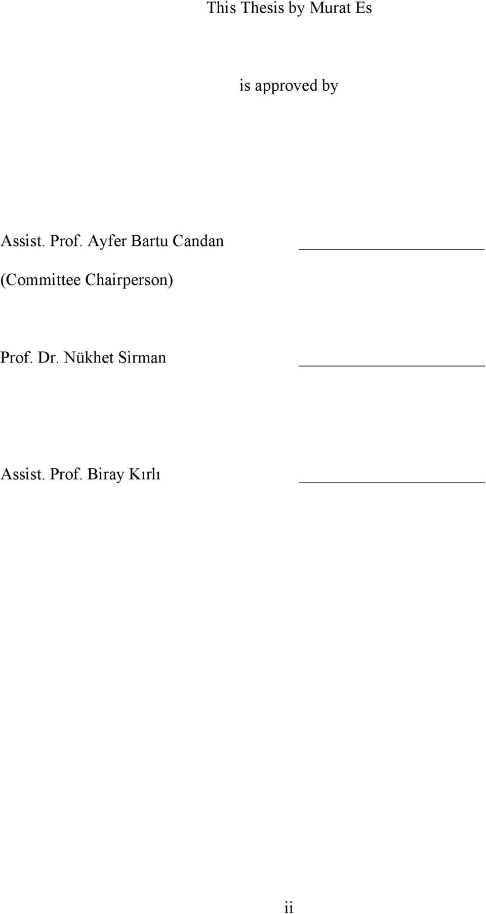 Ayfer Bartu Candan (Committee
