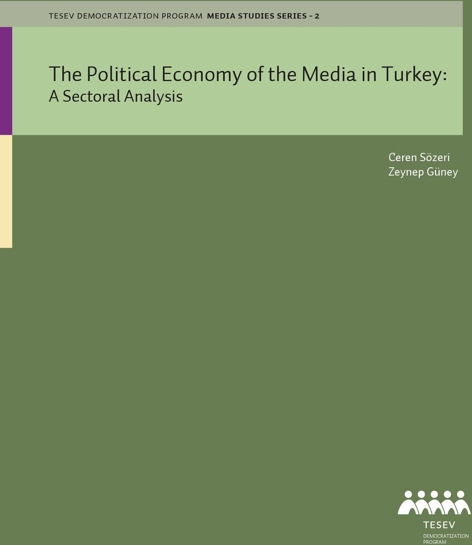 of the Media in Turkey: A Sectoral