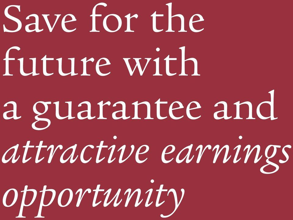 guarantee and