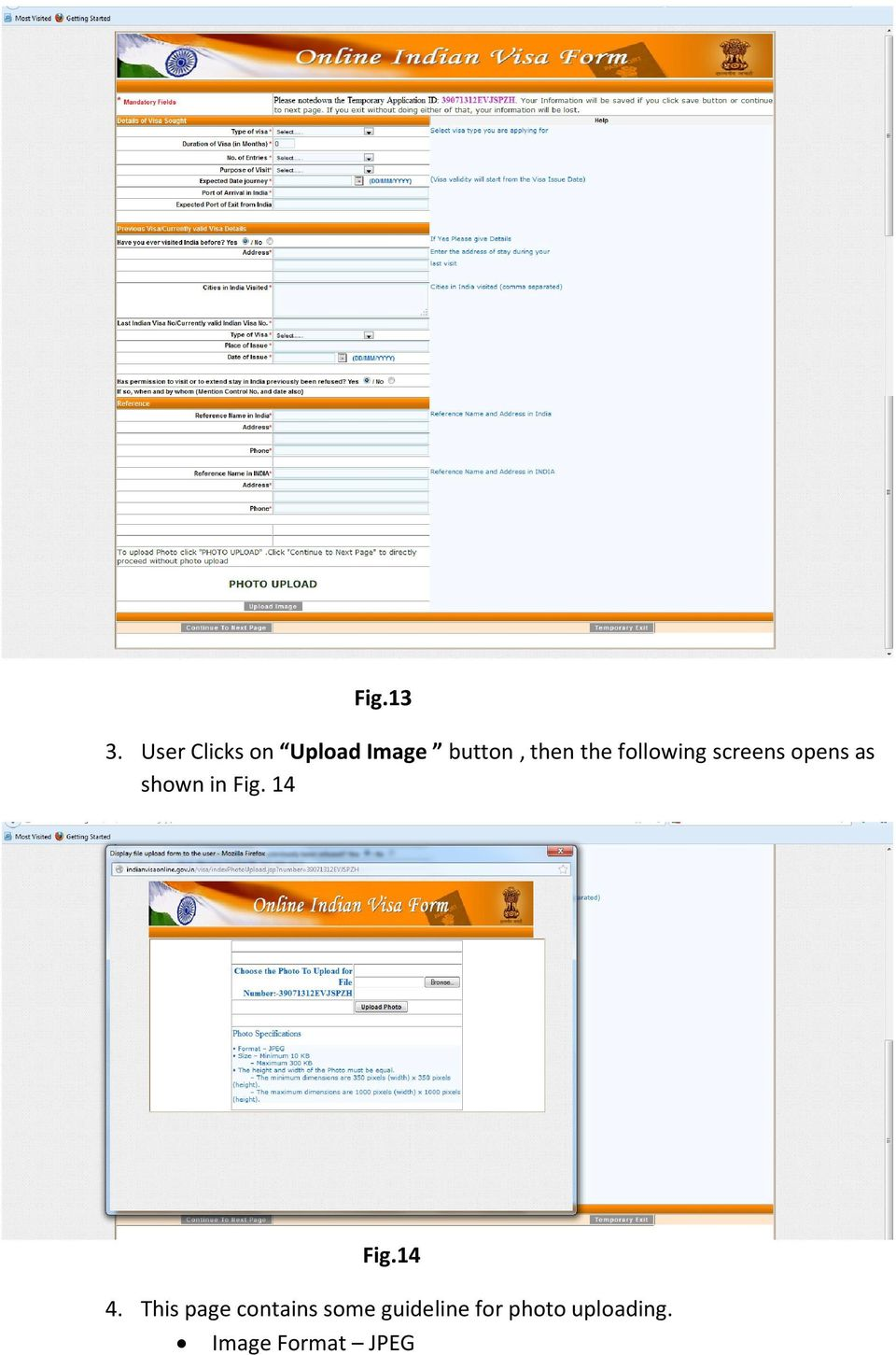 following screens opens as shown in Fig.