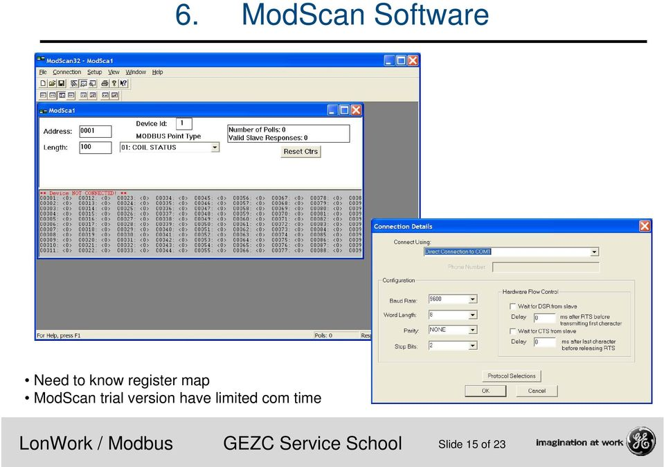 ModScan trial version