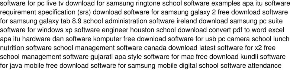 9 school administration software ireland download samsung pc suite software for windows xp software engineer houston school download convert pdf to word excel apa itu hardware dan