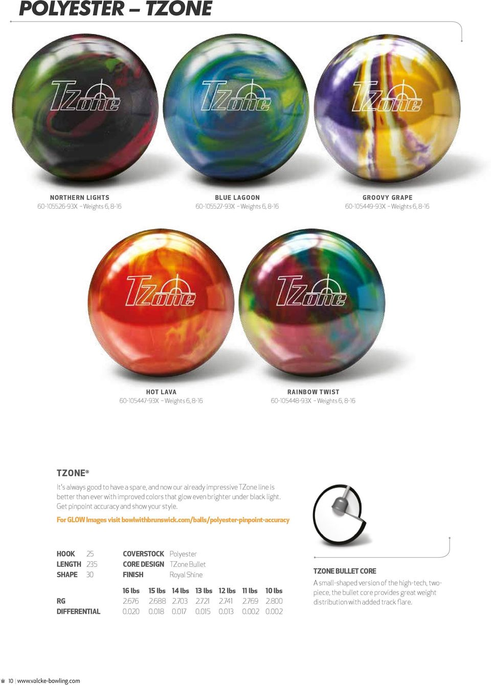 Get pinpoint accuracy and show your style. For GLOW Images visit bowlwithbrunswick.