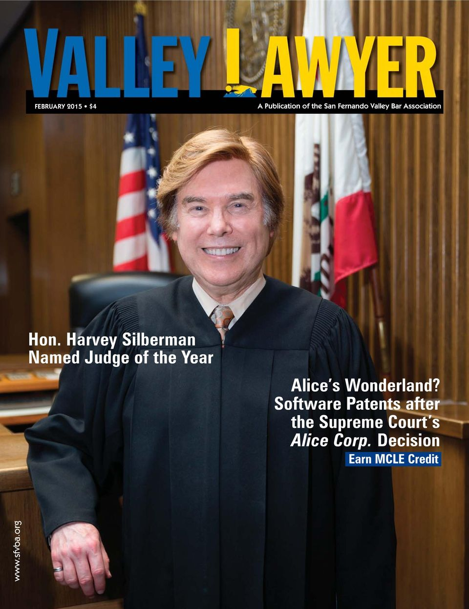 Harvey Silberman Named Judge of the Year Alice s