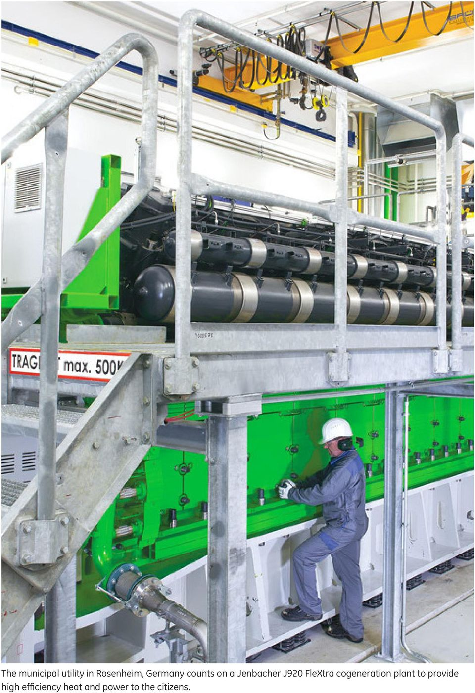 FleXtra cogeneration plant to provide
