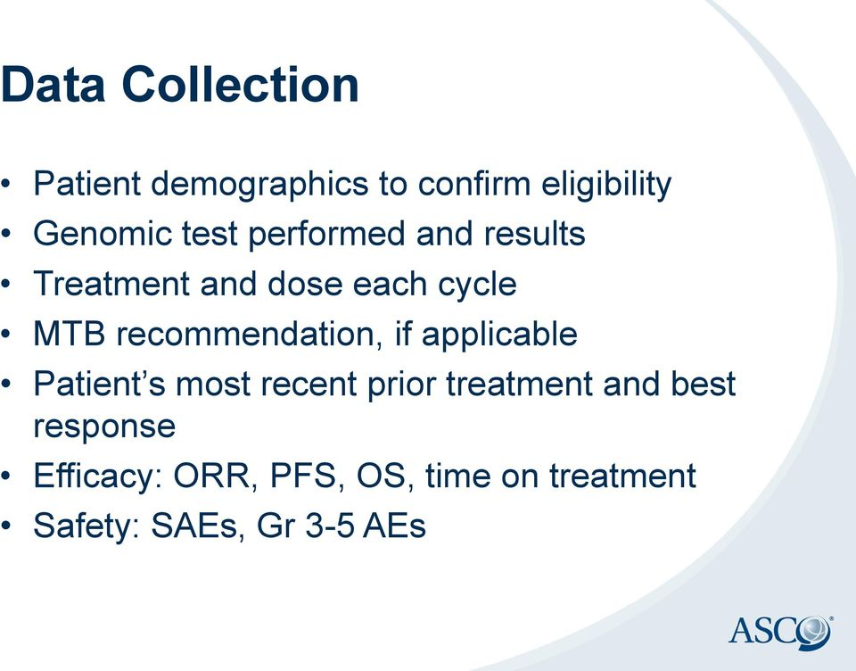 recommendation, if applicable Patient s most recent prior treatment