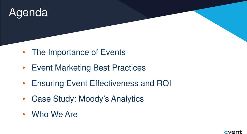 Ensuring Event Effectiveness and