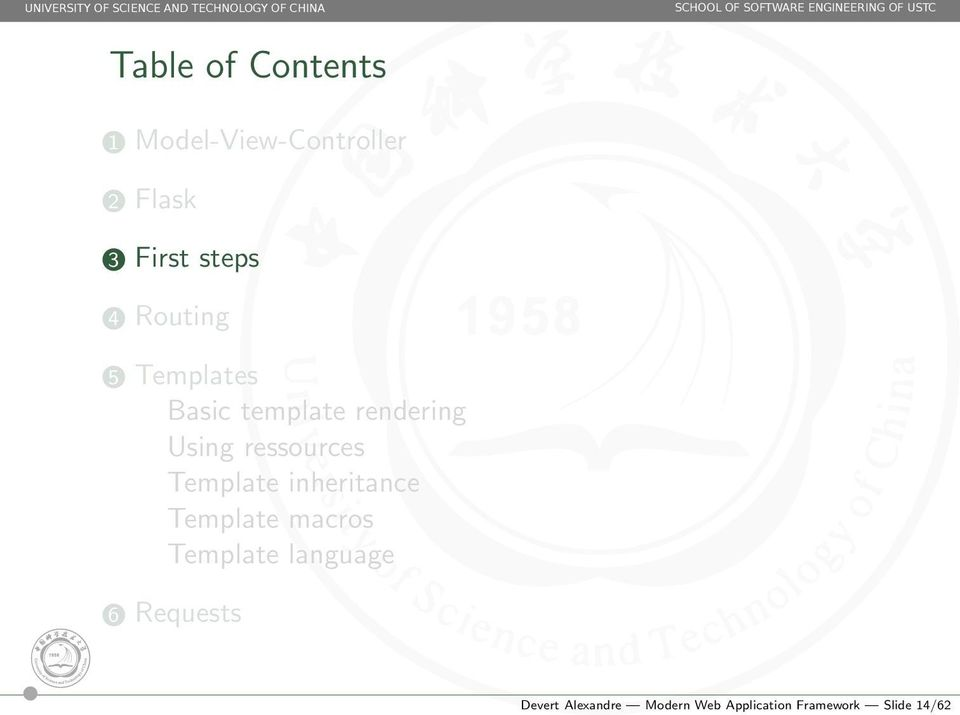 Template inheritance Template macros Template language 6