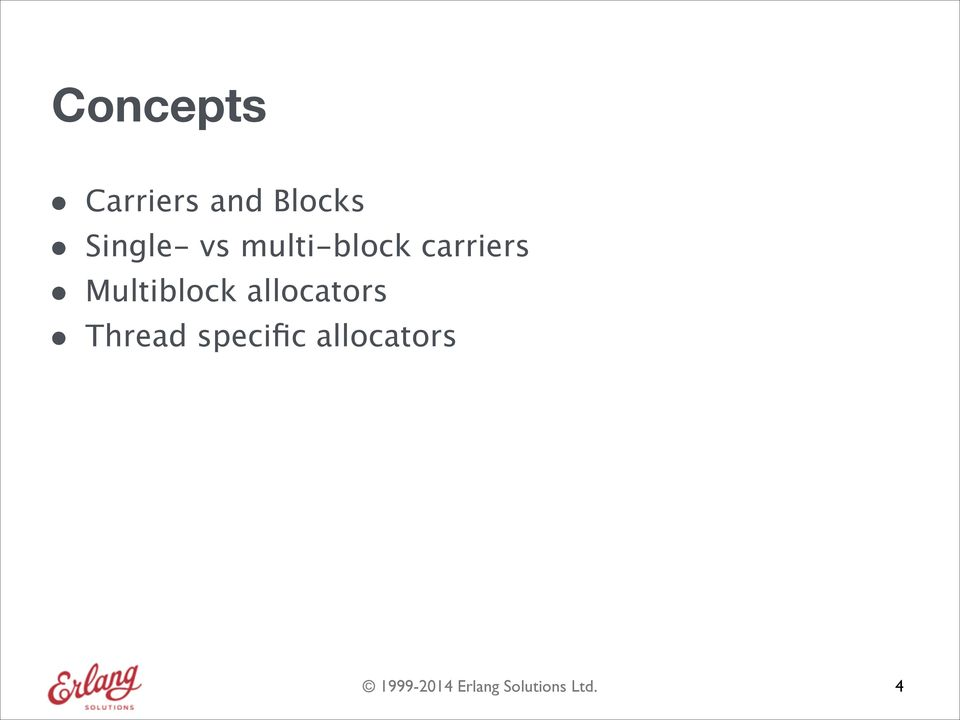multi-block carriers