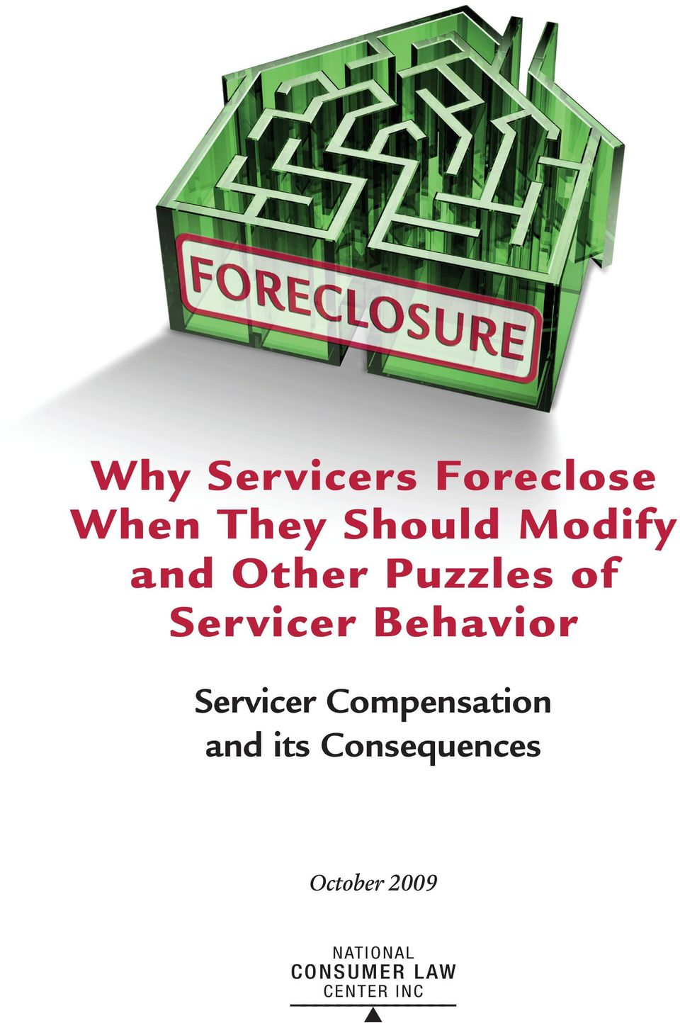 Behavior Servicer Compensation and its
