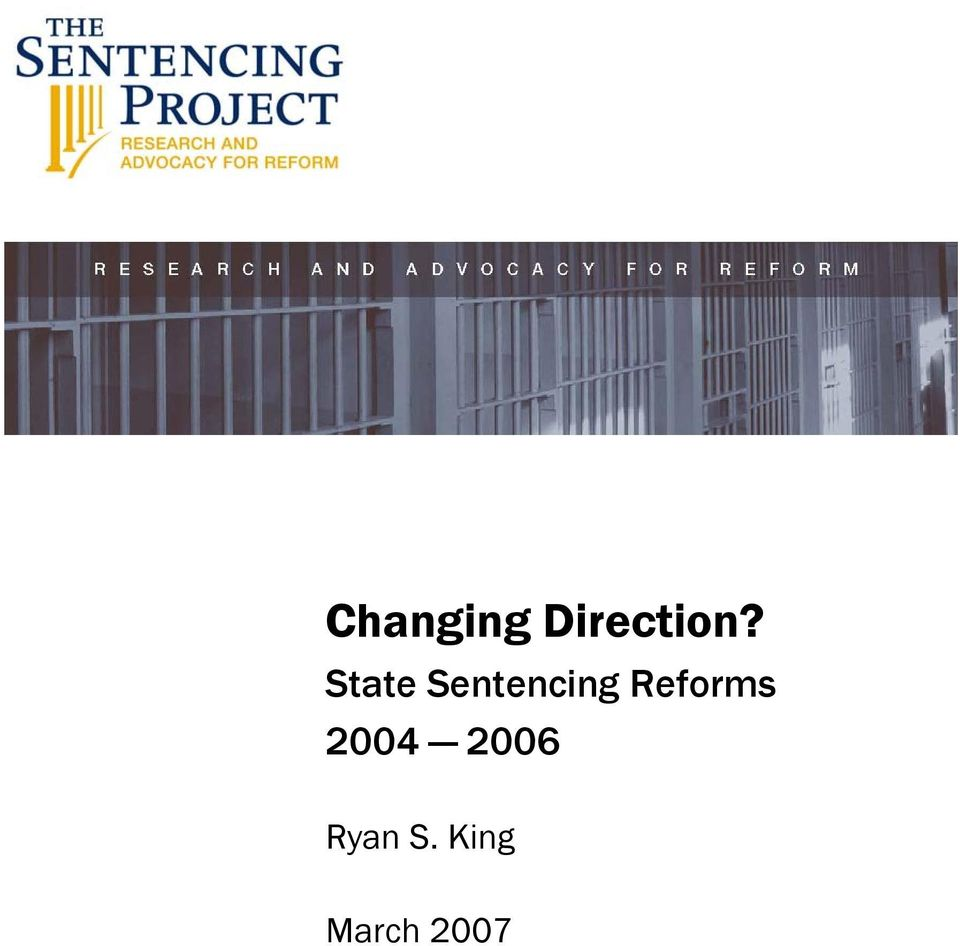 Reforms 2004 2006