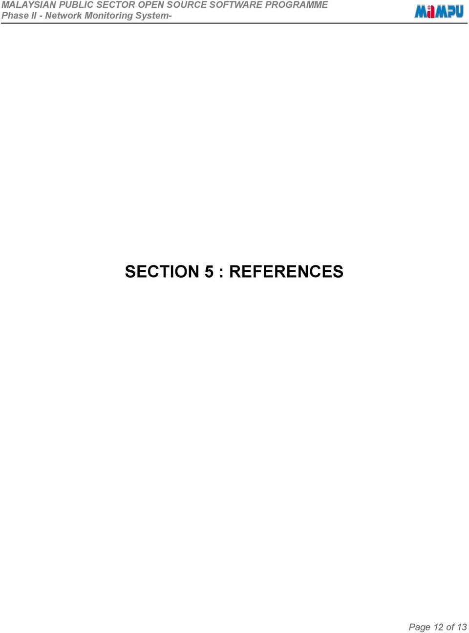 SECTION 5 :