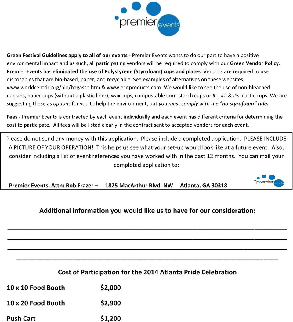 See examples of alternatives on these websites: www.worldcentric.org/bio/bagasse.htm & www.ecoproducts.com.