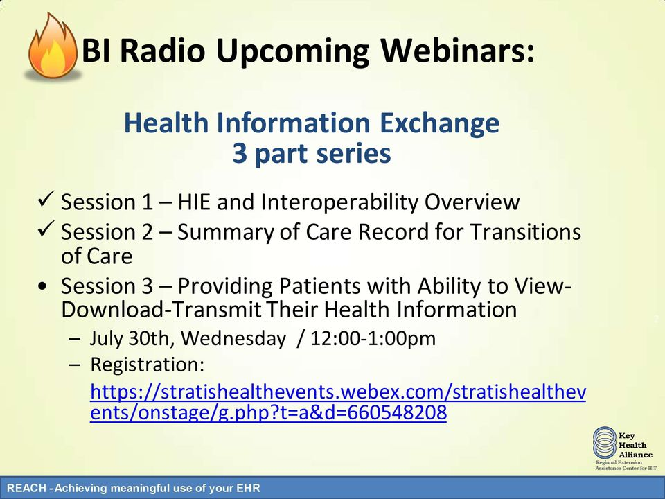 Providing Patients with Ability to View- Download-Transmit Their Health Information July 30th,